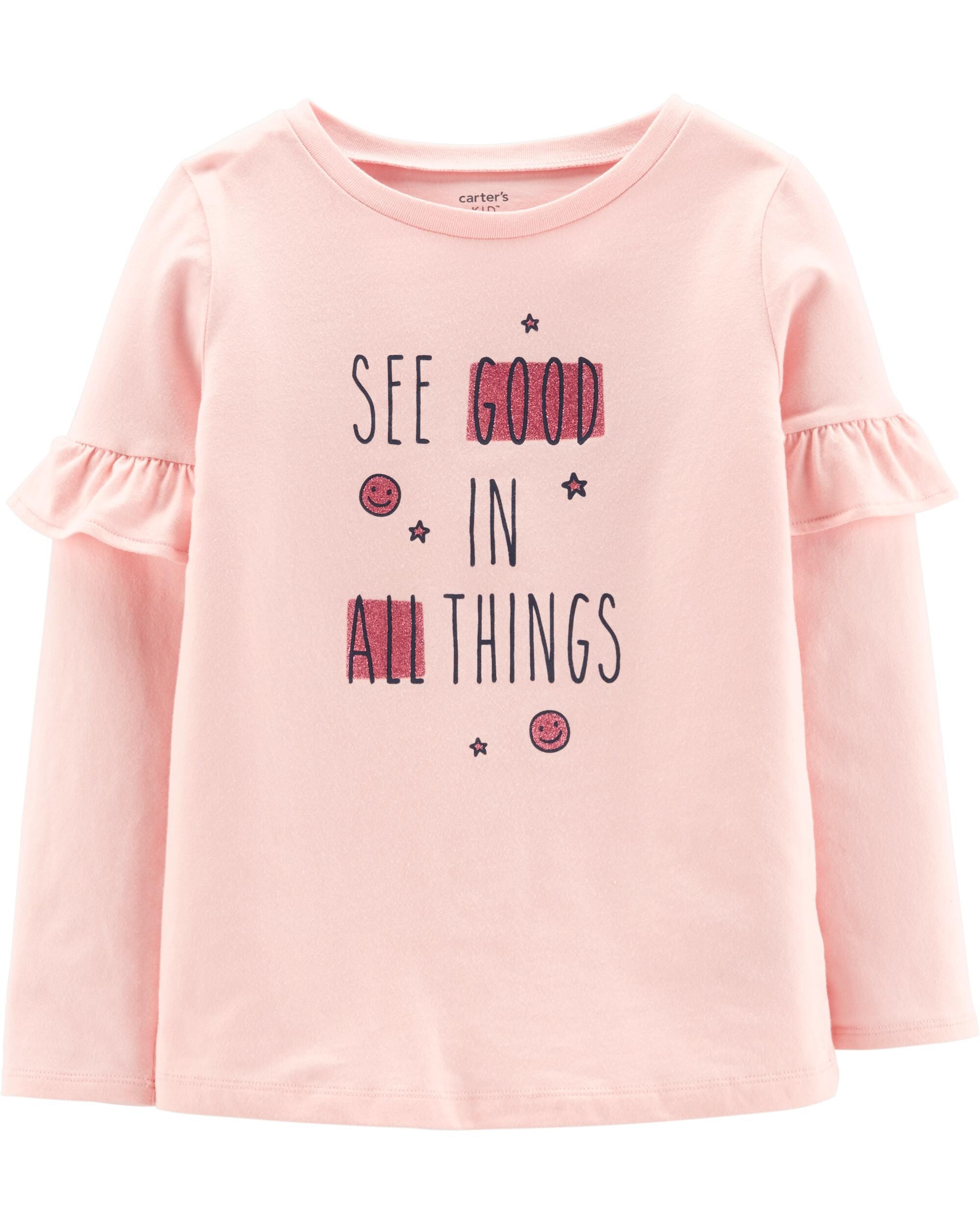 *CLEARANCE* Glitter See Good In All Things Jersey Tee