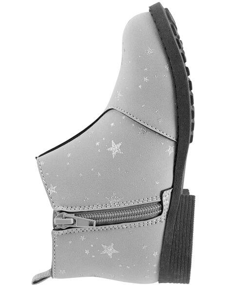 OshKosh Glitter Star Ankle Boots