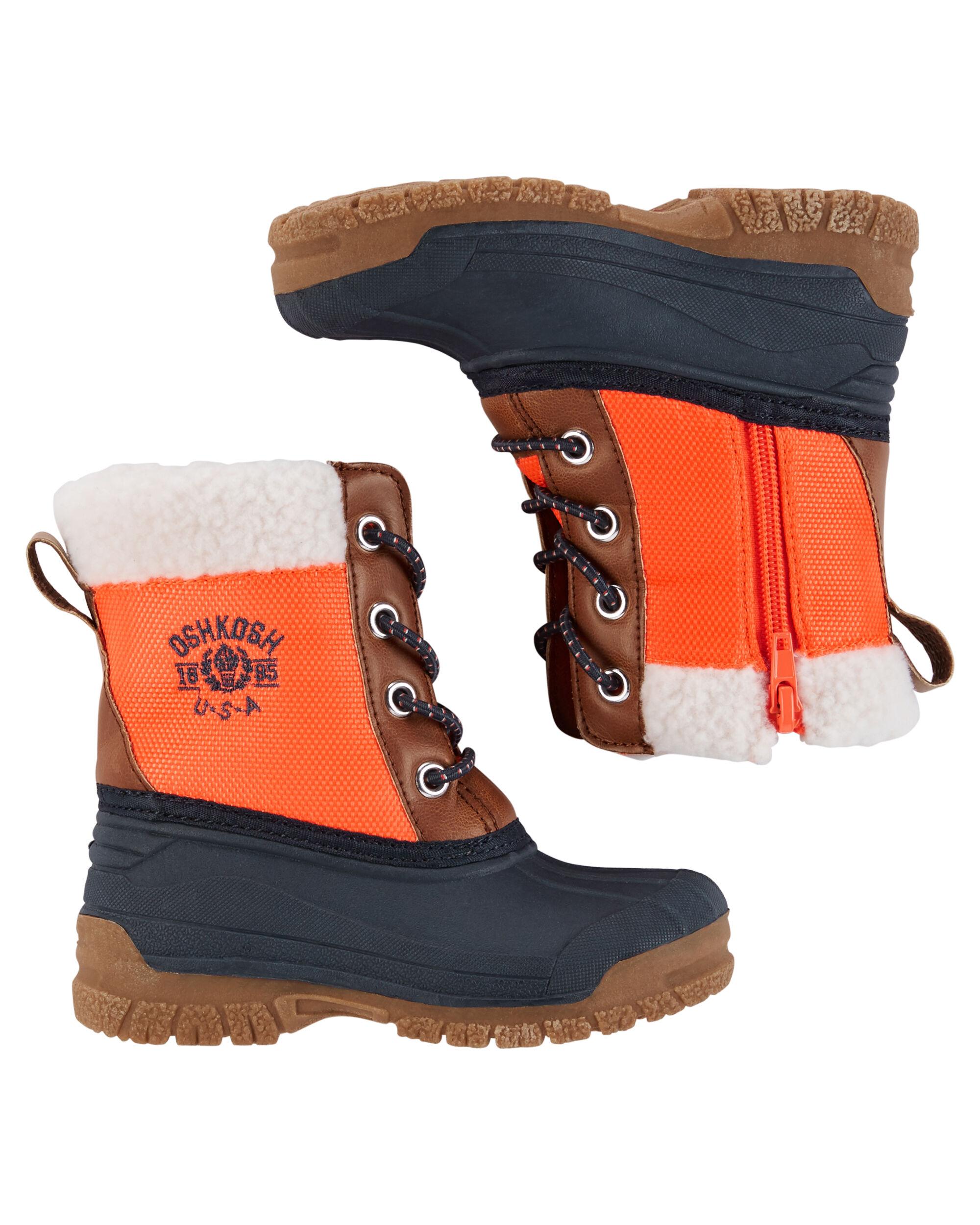 Kid Boy Oshkosh Snow Boots Oshkosh Com