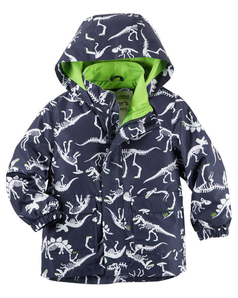 10a33fe66615 Carter s Dino Print Raincoat