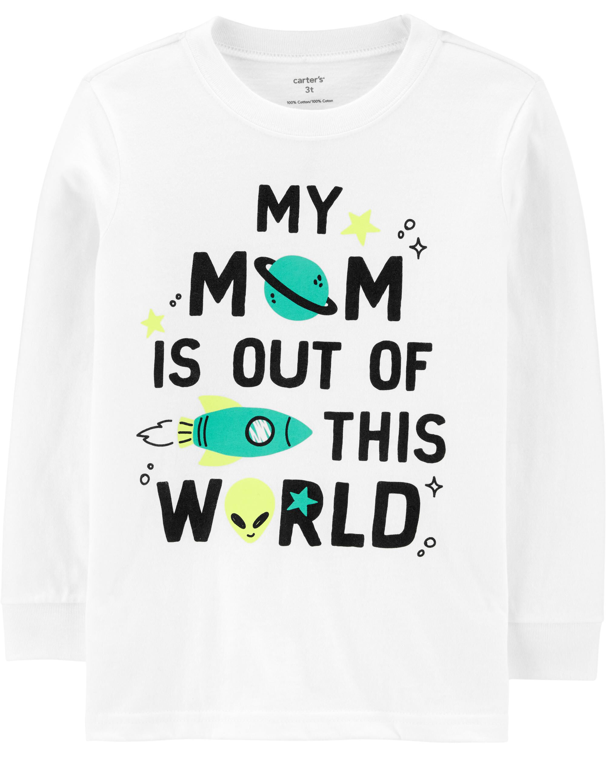 *DOORBUSTER* Mom Is Out Of This World Jersey Tee