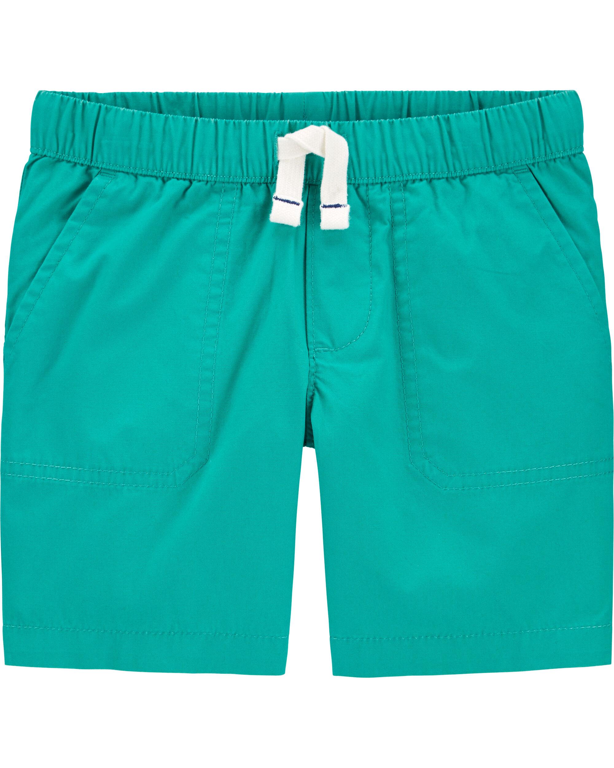 *DOORBUSTER* Pull-On Poplin Shorts