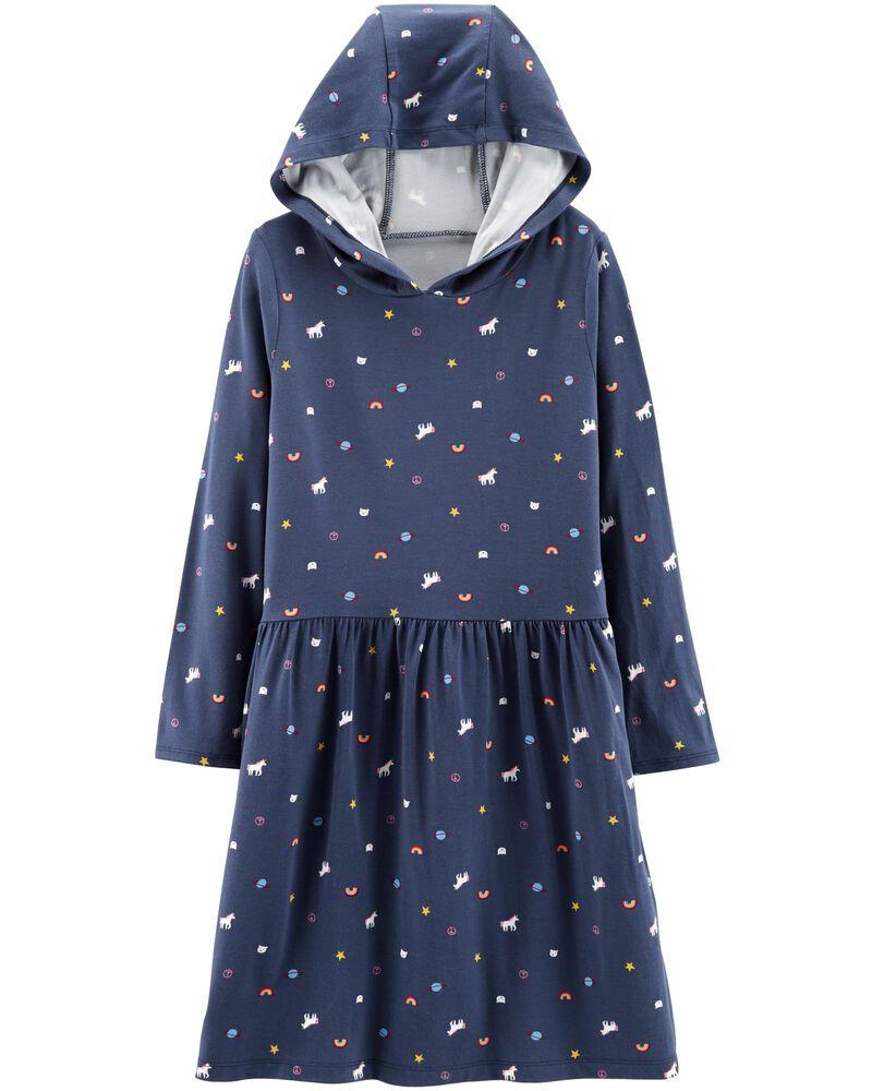 Unicorn Hooded Dress