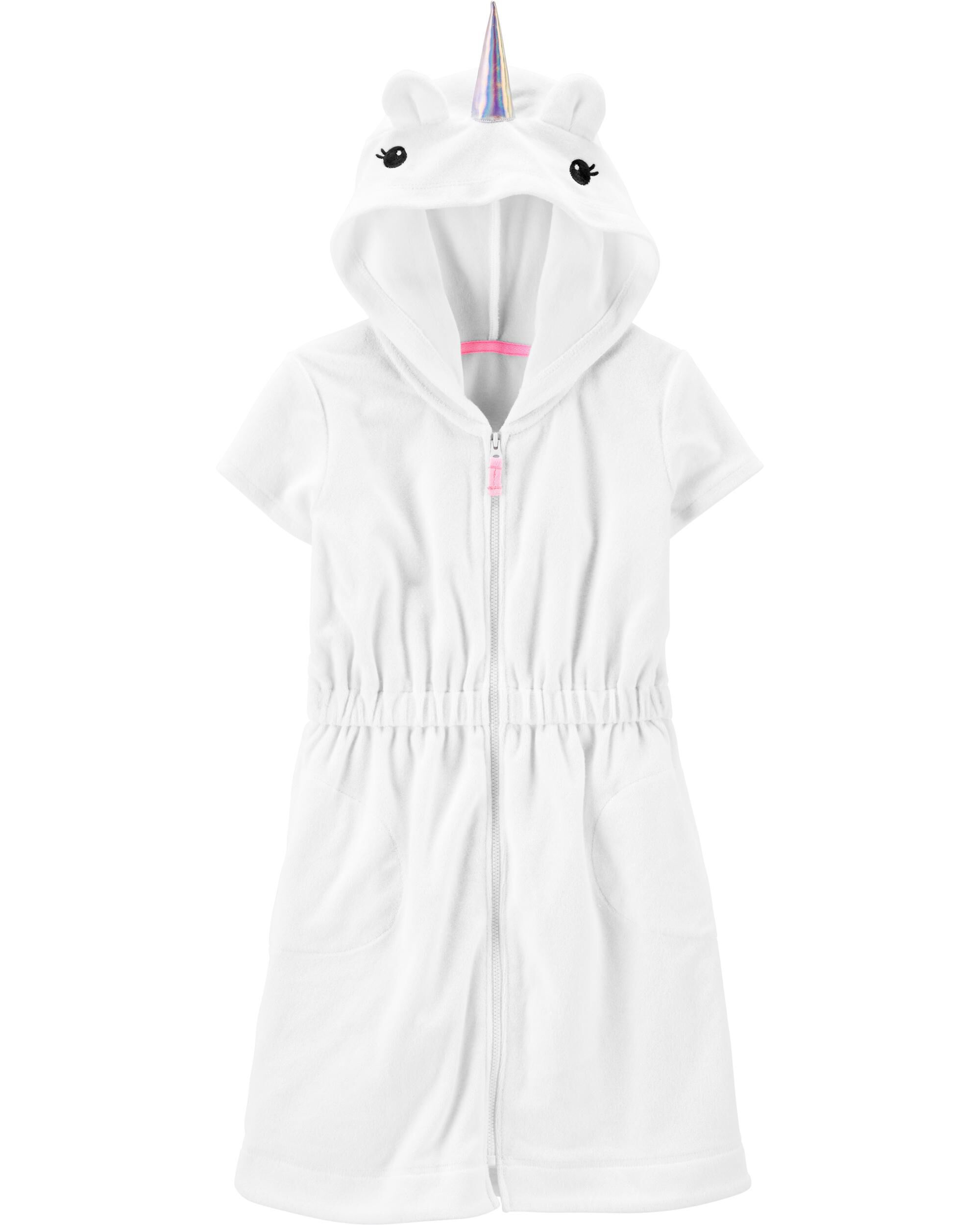 *DOORBUSTER* Unicorn Hooded Cover-Up