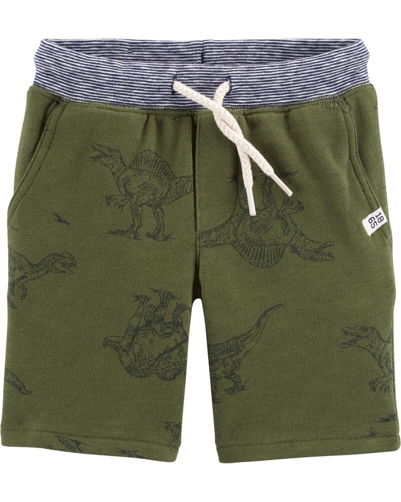 Carters Boys French Terry Shorts 5T Black