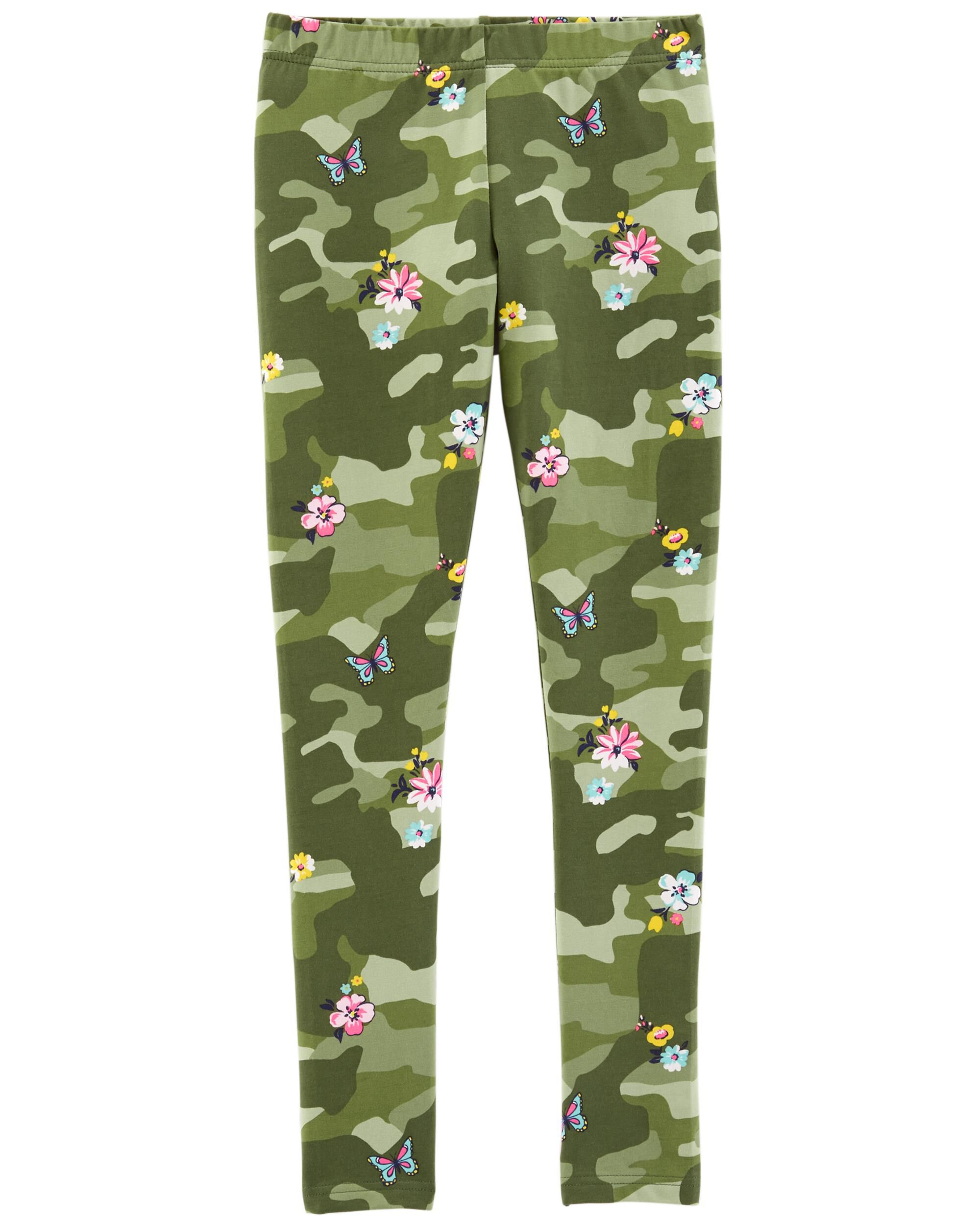 butterfly camouflage Kids leggings