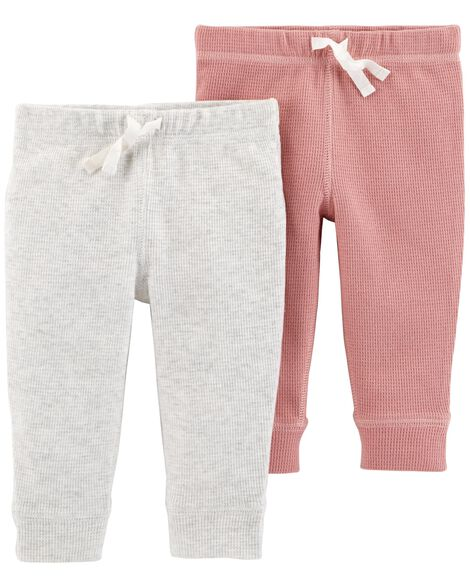 2 Pack Thermal Pants by Carter's