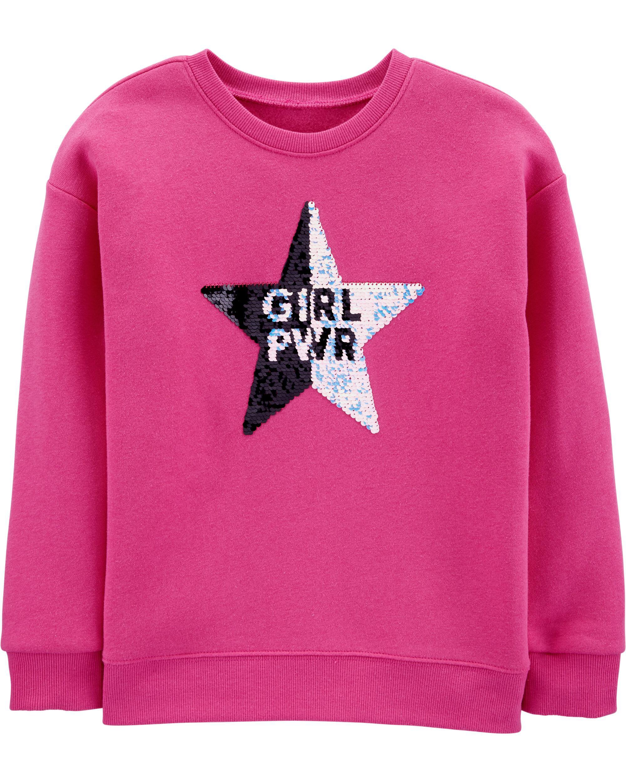*CLEARANCE* Flip Sequin Star Sweatshirt