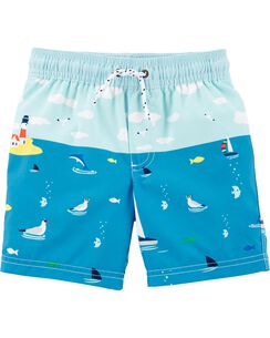 6ba0032fb7 Baby Boy Swimwear: Trunks & Rashguards | Carter's | Free Shipping