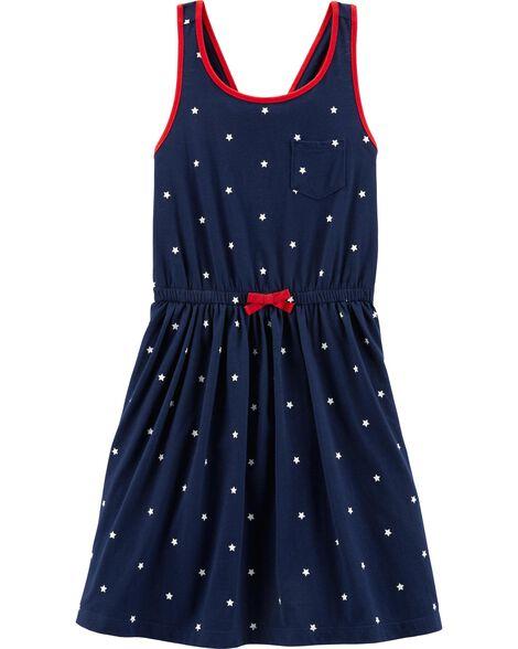 4th Of July Americana Jersey Dress