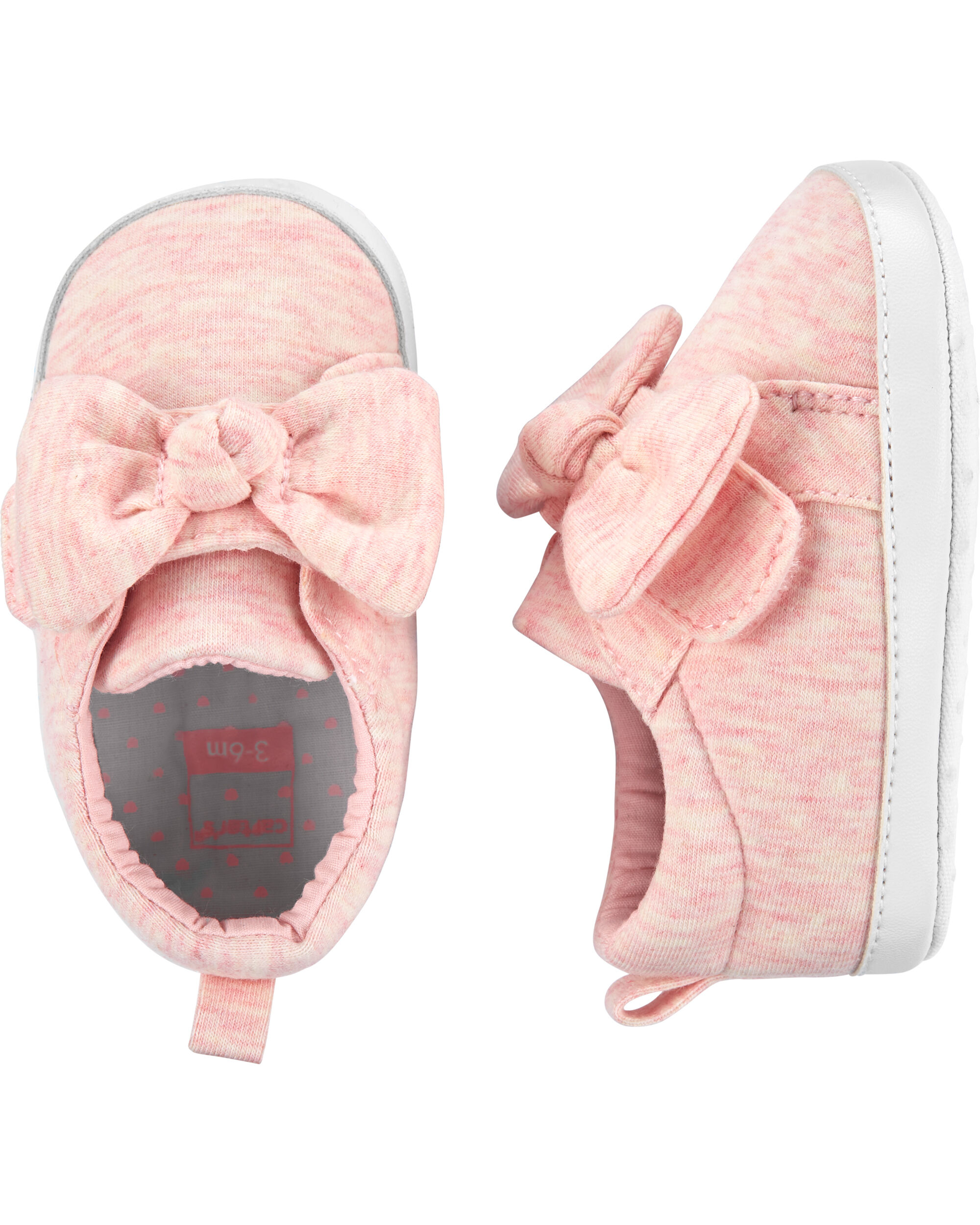 Carter's Bow Sneaker Baby Shoes