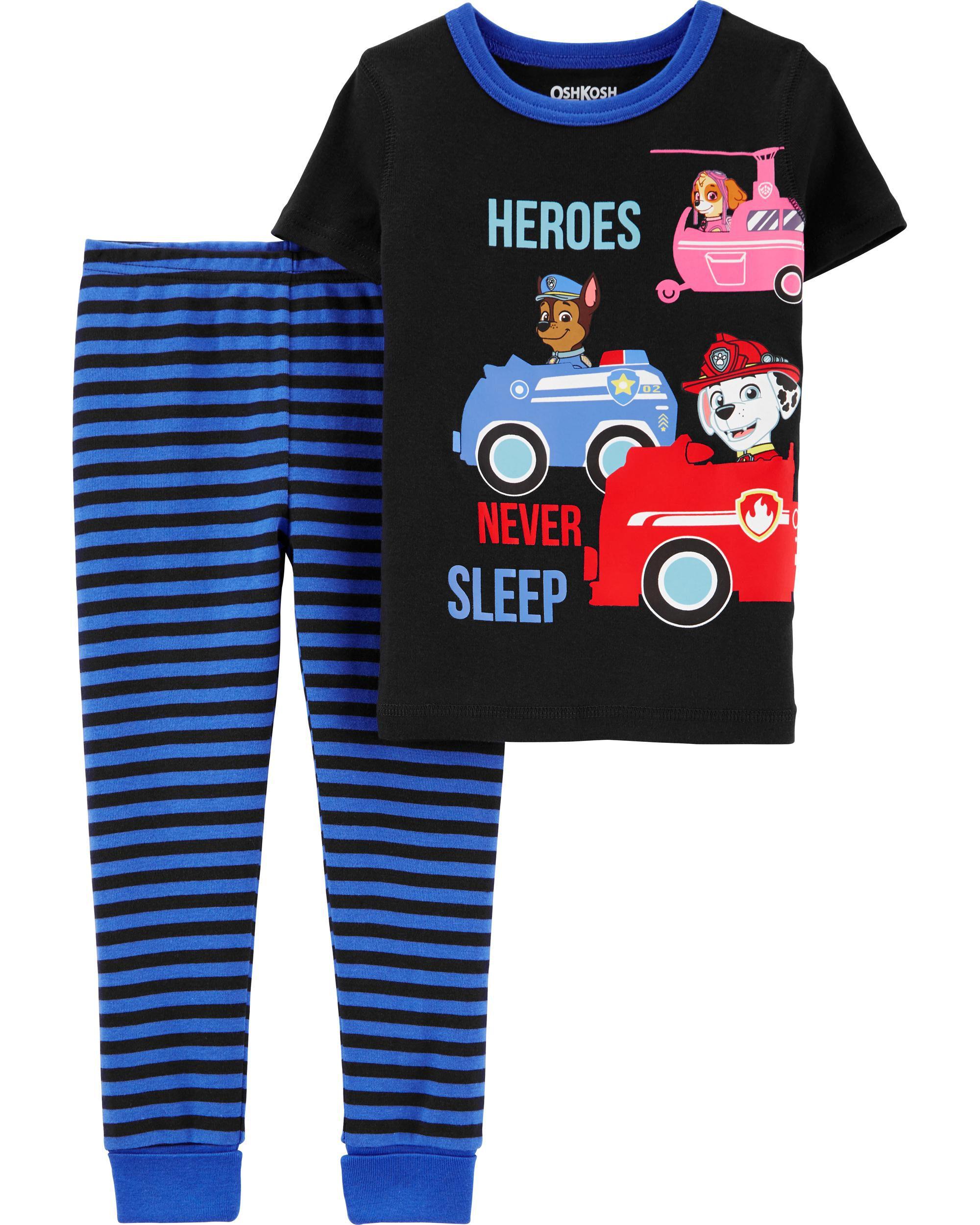 Carters Girls 4T 4 Piece Long Pants Bunny Hop To Bed Pajamas 4T Retail $34!