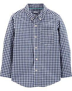 917e3b63c Kid Boy Button Front Shirts | Carter's | Free Shipping