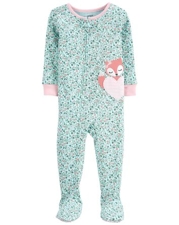 1-Piece Fox 100% Snug Fit Cotton Fo...