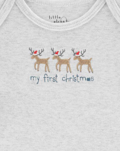 e8f3e3761 Certified Organic Cotton 3-Piece Christmas Set   Carters.com