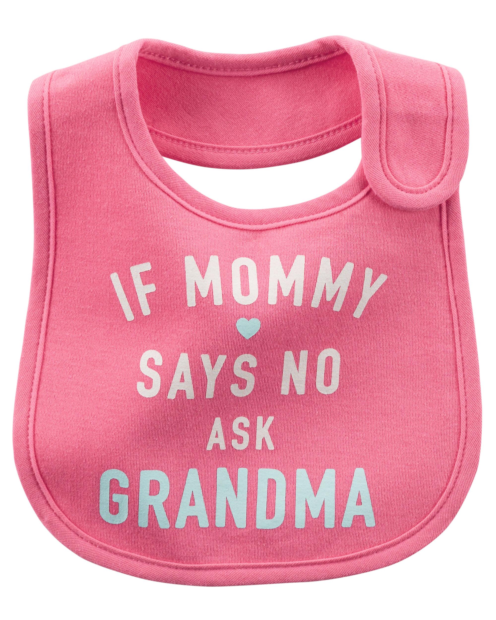 Ask Grandma Teething Bib Carters Com
