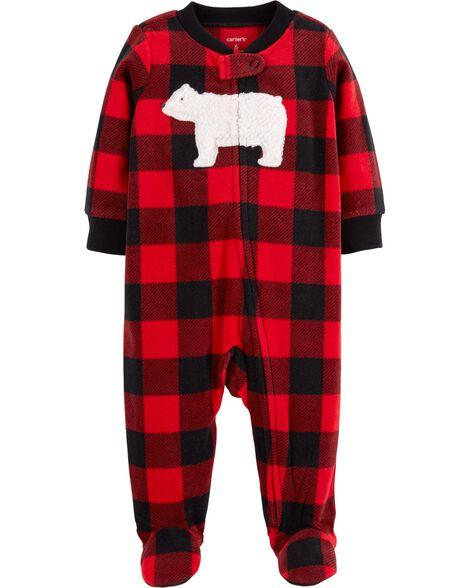 22d2affd745 Buffalo Check Zip-Up Fleece Sleep   Play