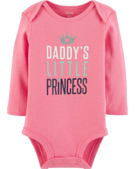 f87dddc2f Daddy's Little Princess Collectible Bodysuit | Carters.com