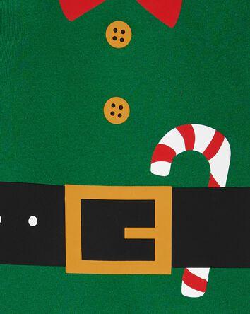 2-Piece Christmas Elf Cotton & Flee...