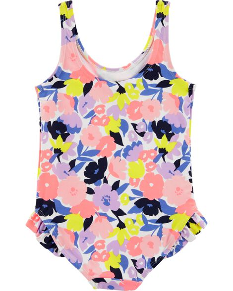 Carter's Floral 1-Piece Swimsuit