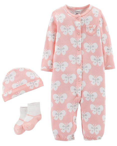 3-Piece Babysoft Take-Me-Home Set | Tuggl