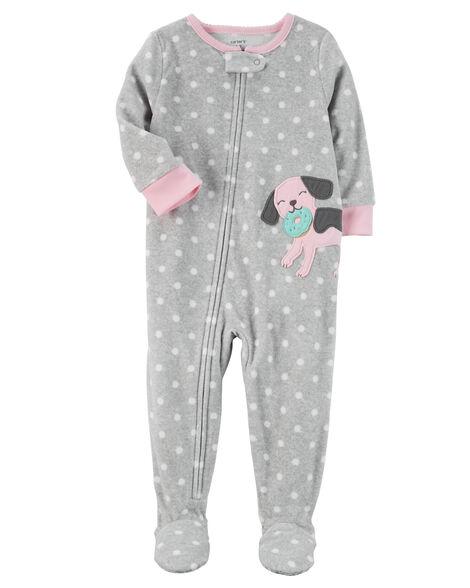 4ef825330 1-Piece Dog Fleece PJs