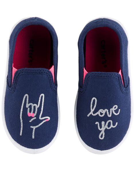 Carter's Love Ya Casual Sneakers