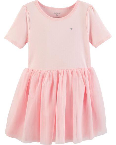 4f4ad53541d9 Tutu Jersey Dress | Carters.com