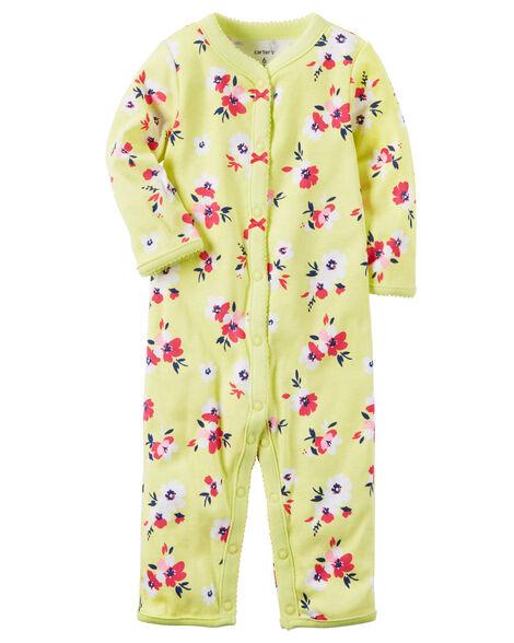 63a2e6cc763c Cotton Snap-Up Footless Sleep   Play