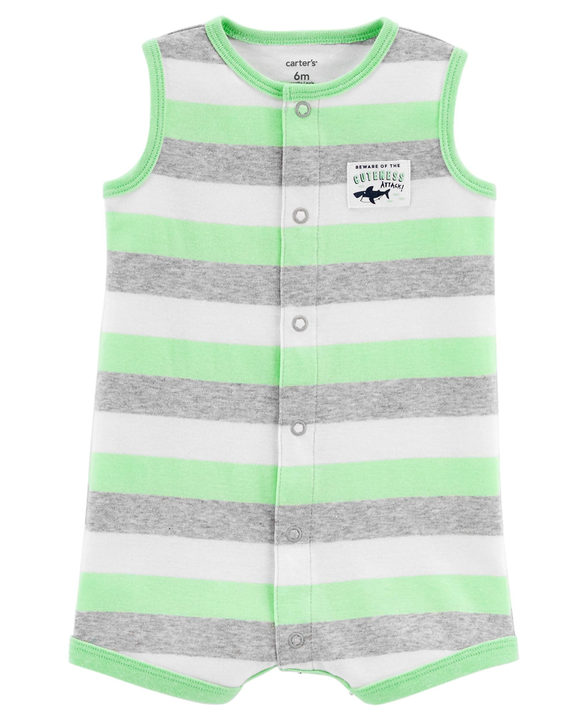 Carters Baby Boys Snap-Up Romper