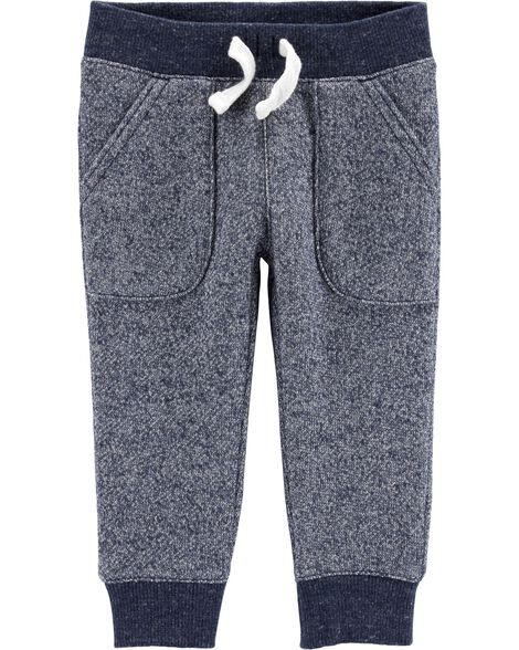 Marled Yarn  Pull-On Pants