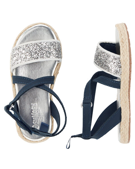 97f62ea211d3cd Images. OshKosh Sparkle Espadrille Sandals