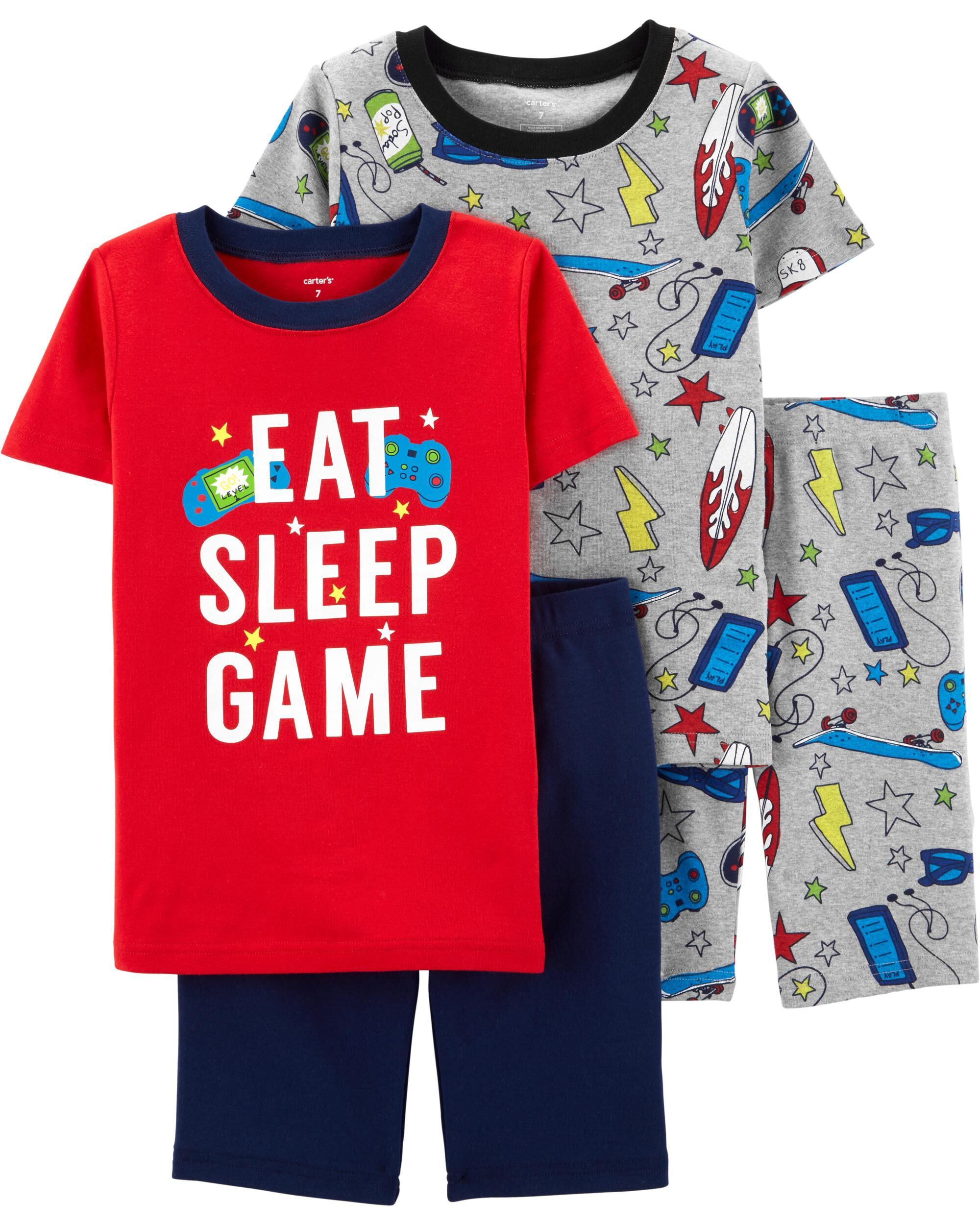 Clothing Sets New Style Toddler Kids Baby Boys Pajamas Cartoon Dinosaur Print Tops Shorts Outfits Set Childrens Clothing Outfits Costumes Selling Well All Over The World Mother & Kids