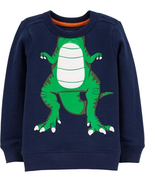 Dinosaur Character Pullover