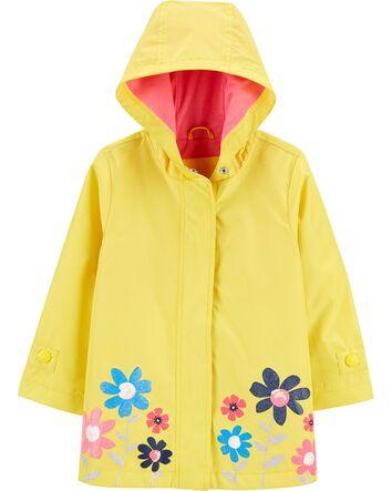 Carter/'s Infant Girls Her Favorite Rainslicker Rain Jacket Size 12M 18M 24M