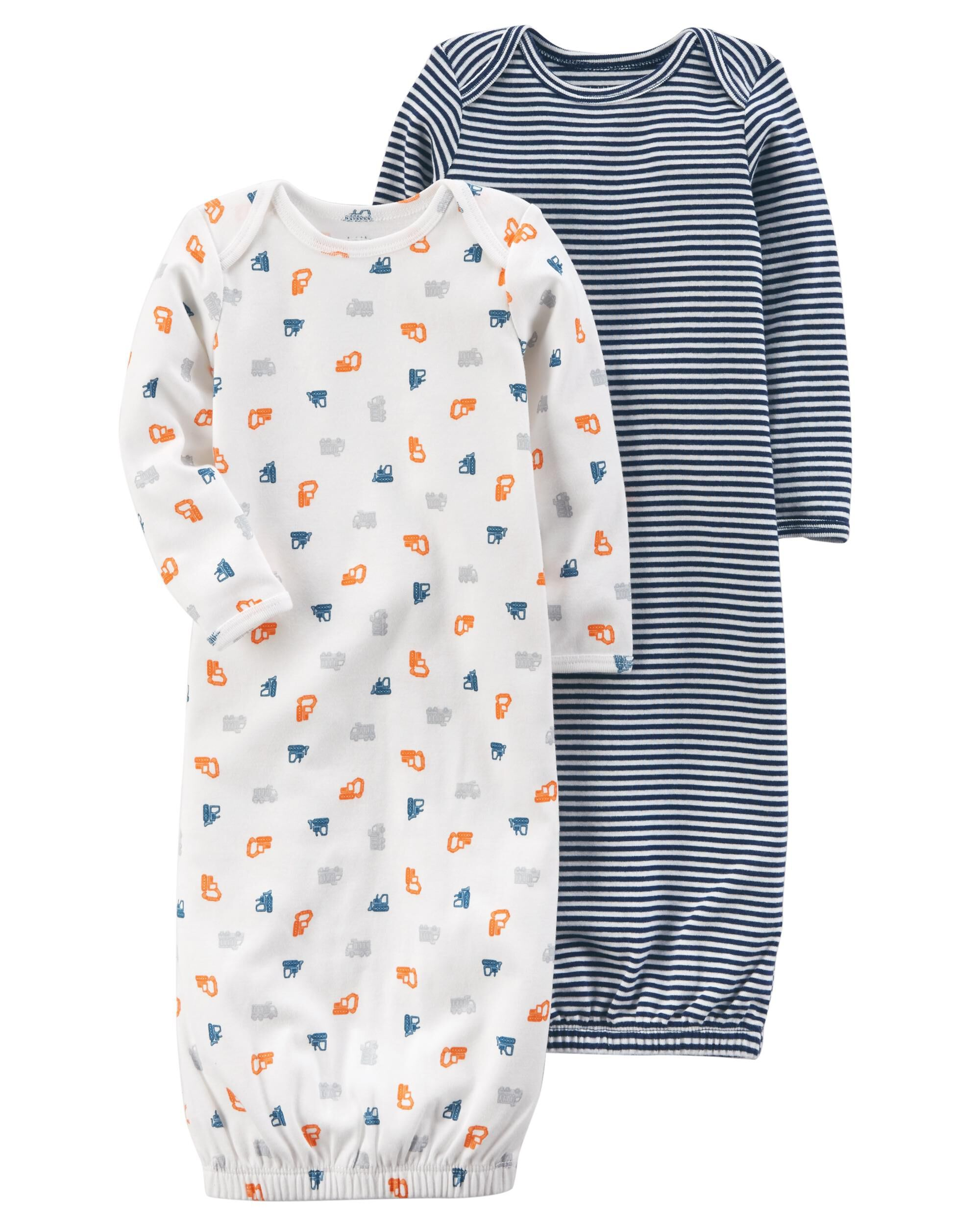 2-Pack Certified Organic Sleep Gowns | Carters.com