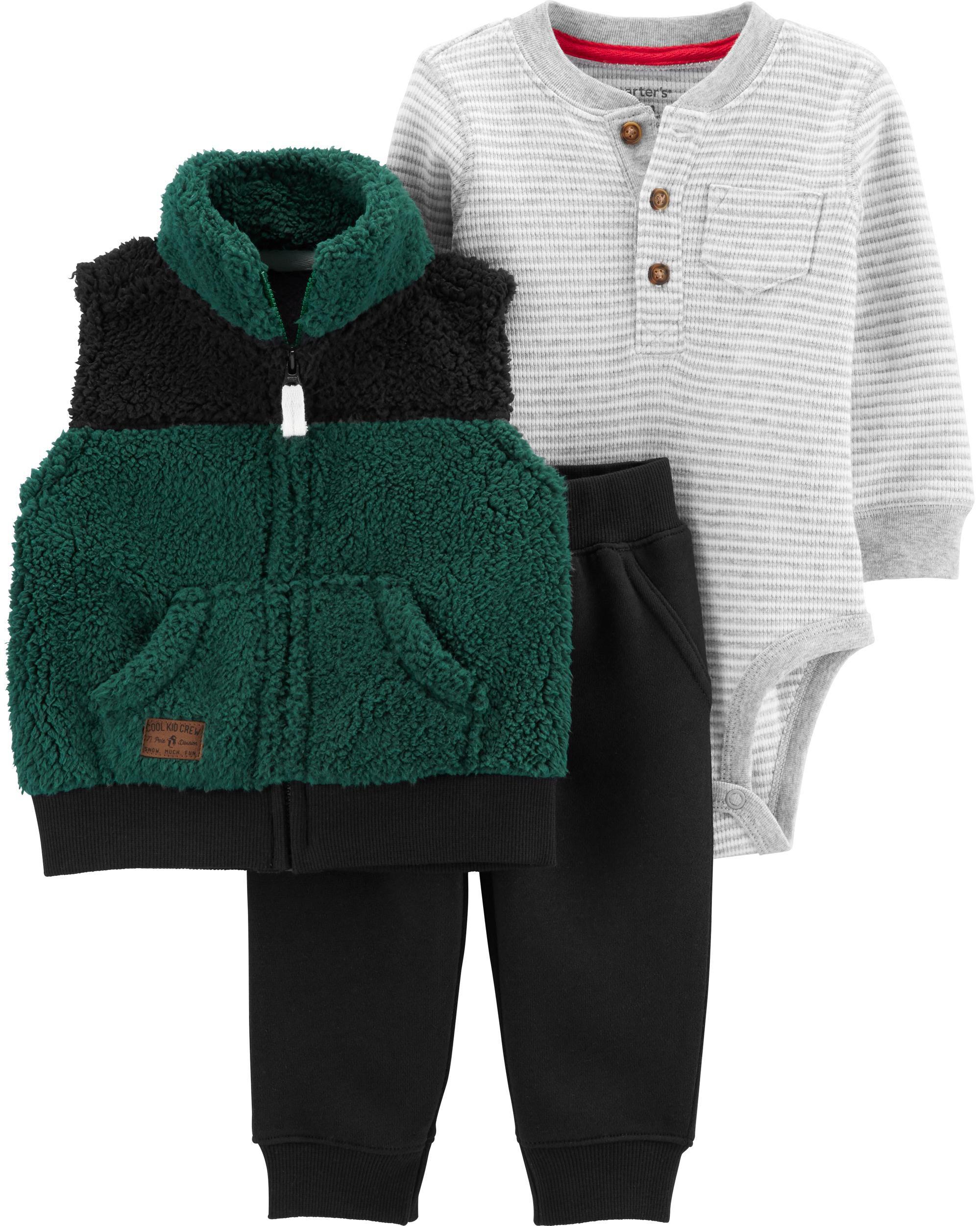 *CLEARANCE* 3-Piece Little Vest Set