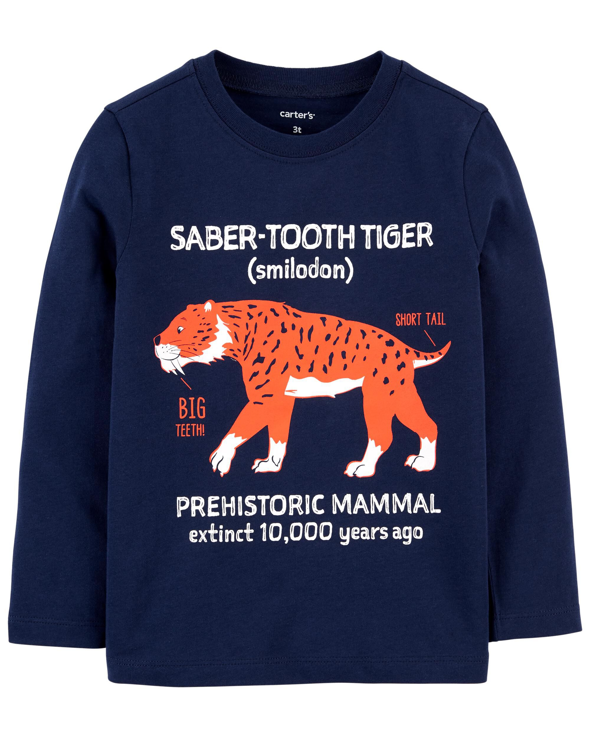 *CLEARANCE* Tiger Jersey Tee