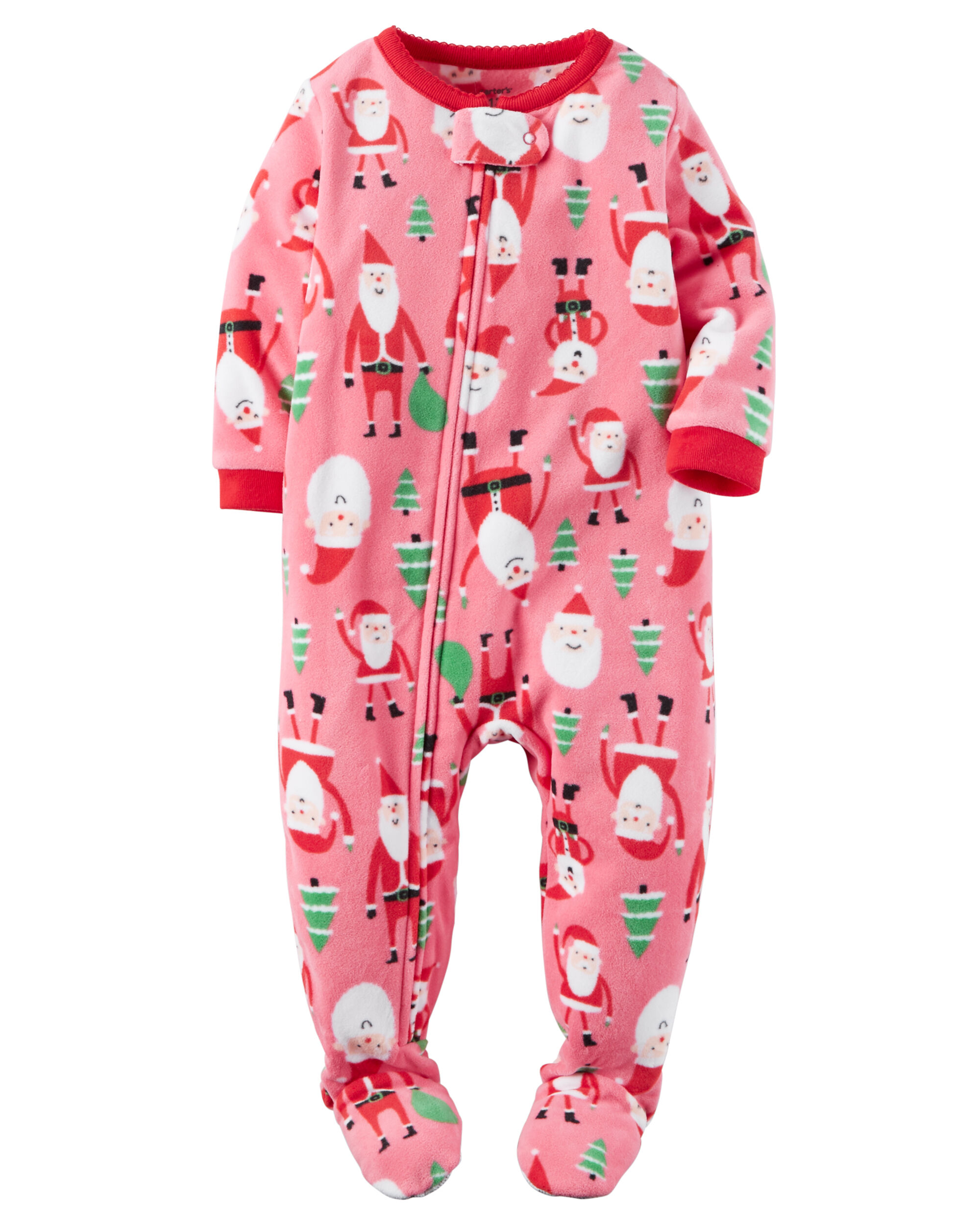 1 piece fleece christmas pjs carters com