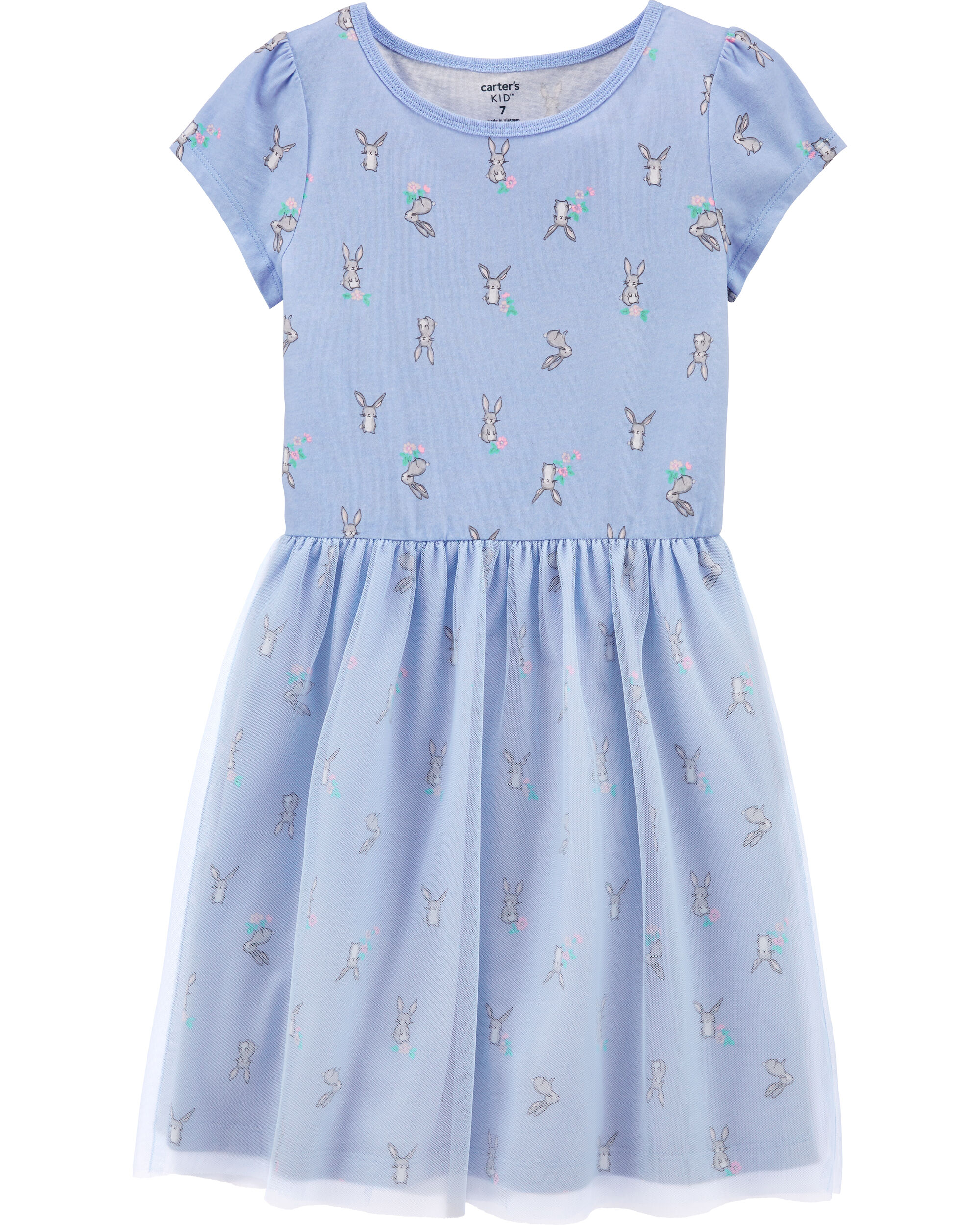 *CLEARANCE* Bunny Tutu Jersey Dress