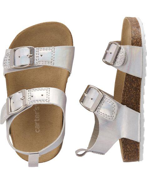 768b9d5f2 Toddler Girl Carter s Buckle Cork Sandals