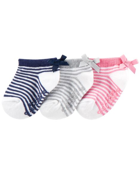 3e88bc0bb84a2 3-Pack Ankle Socks | Carters.com
