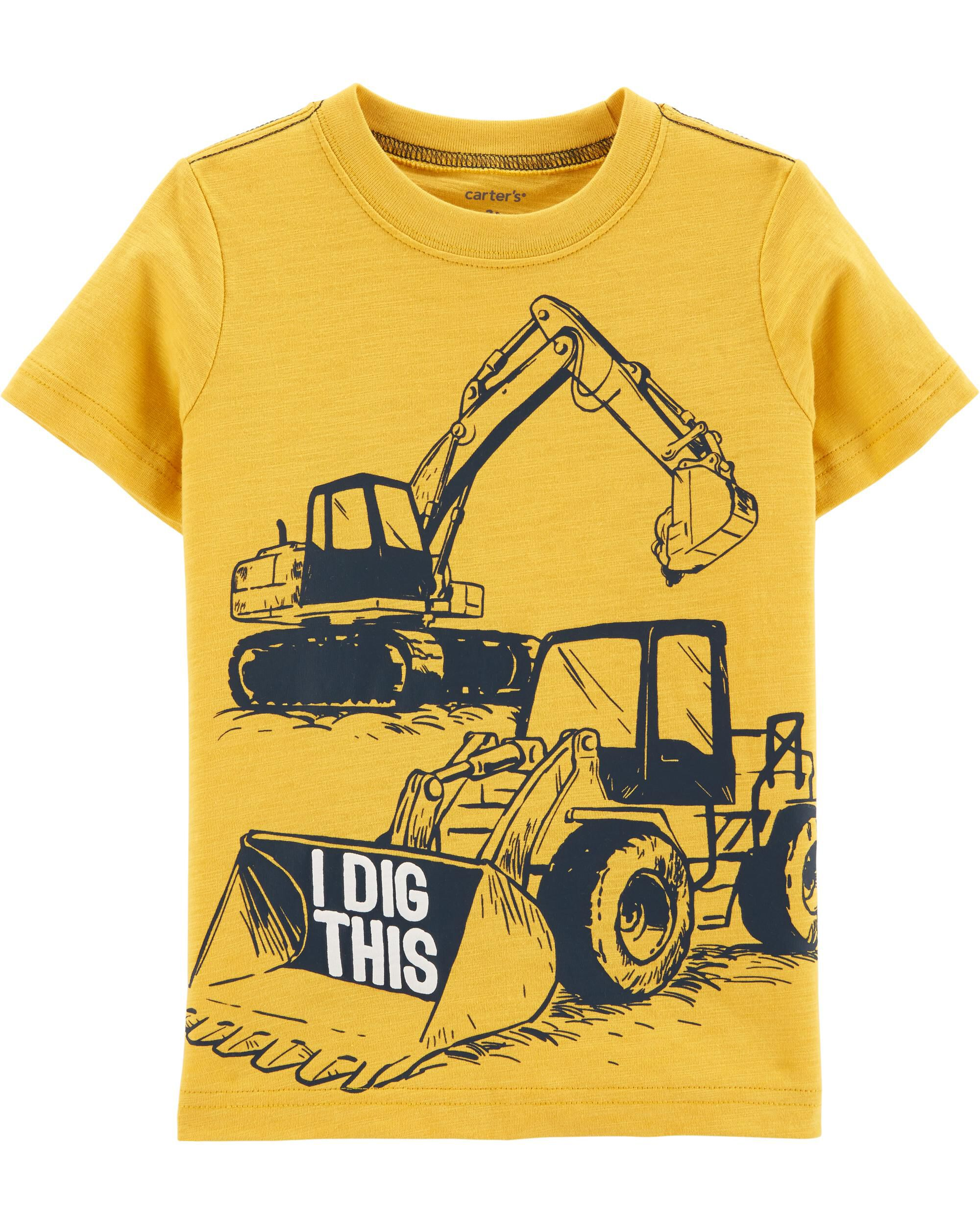 *CLEARANCE* Construction Truck Jersey Tee