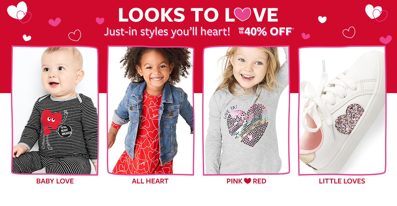 looks to love | just-in styles you'll heart! 40% off msrp