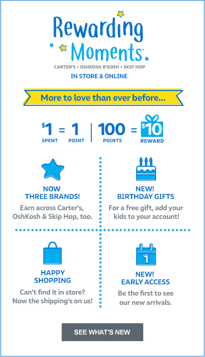 Rewarding Moments From Carters
