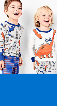 four-piece pajamas | sizes 2t-5t