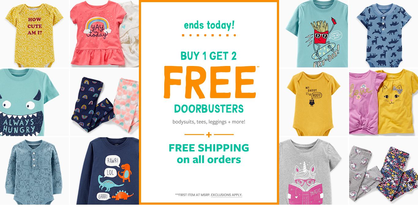 ef438d3f2 Baby Clothing, Kids Clothes, Toddler Clothes | Carter's