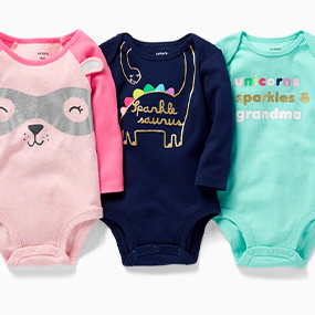 pretty nice 87ded b617d Baby & Newborn Clothes | Carter's | Free Shipping