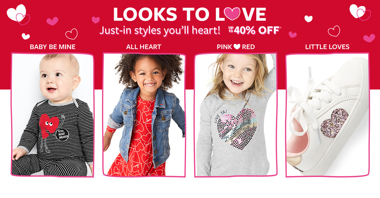 looks to love | just-in styles you'll heart! 40% off