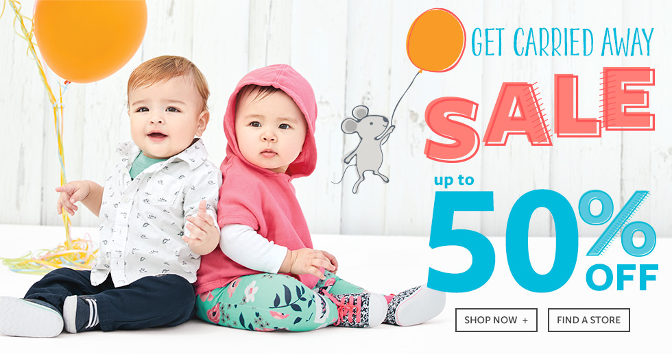 Get Carried Away Sale | Up to 50% Off